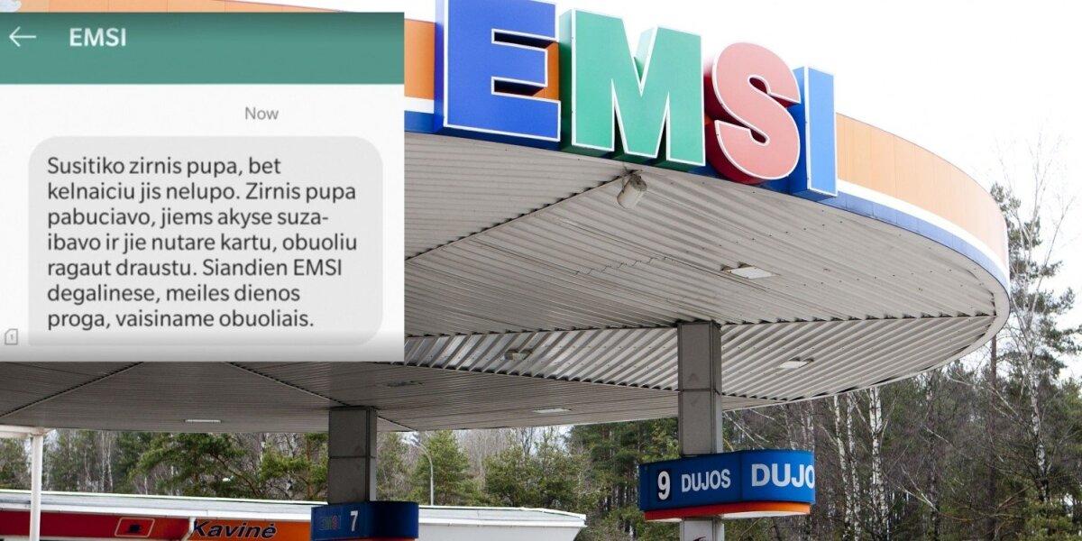 """""""Emsi"""" vėl platina vulgarias žinutes"""