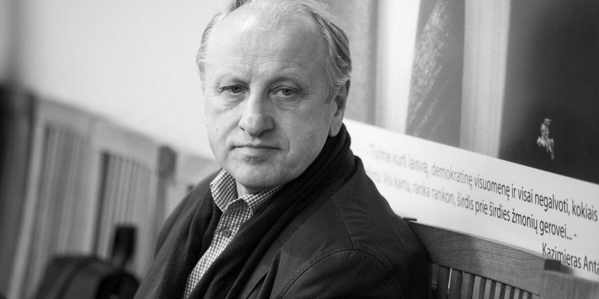 Eidamas 66 metus mirė žurnalistas, Vilniaus universiteto Komunikacijos fakulteto profesorius Žygintas Pečiulis