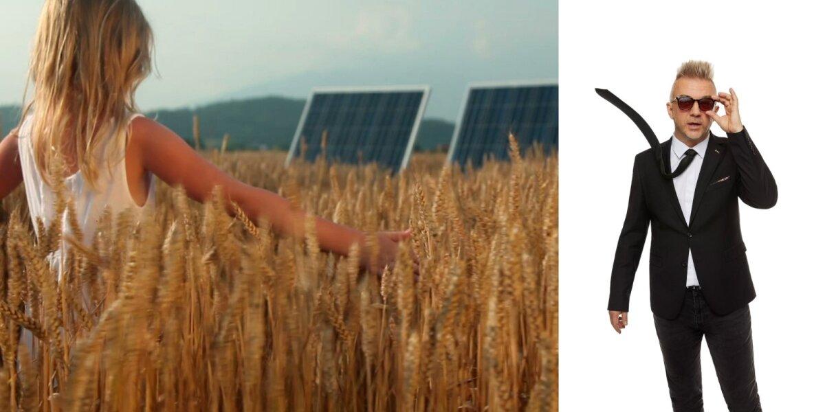 """""""Saulės grąža"""" reklama, A. Mamontovas"""