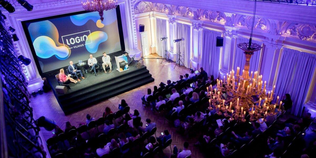 """DELFI perka technologijų ir inovacijų konferenciją """"Login"""""""