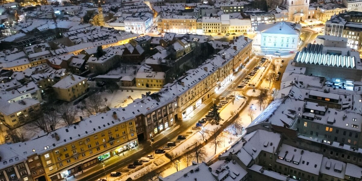 Klausimas Vilniaus centre: kam reikalingos parduotuvės, kai yra internetas?