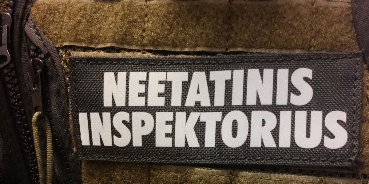 Neetatinio aplinkos apsaugos inspektoriaus apranga