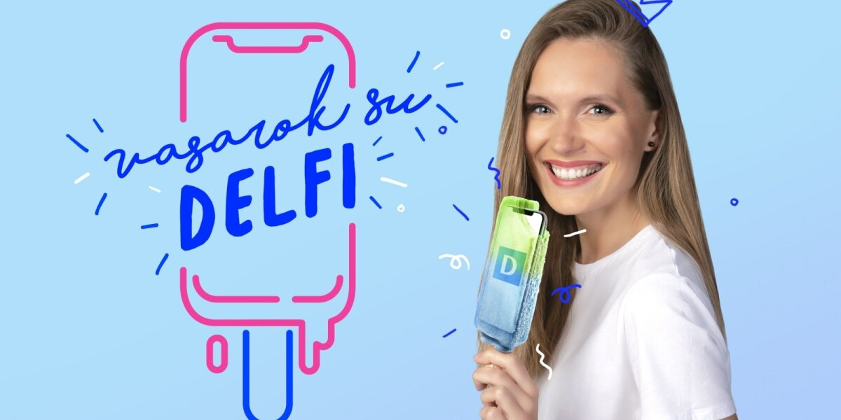 """DELFI skelbia konkursą – vasarą sek naujienas drauge ir laimėk """"iPhone XS"""""""