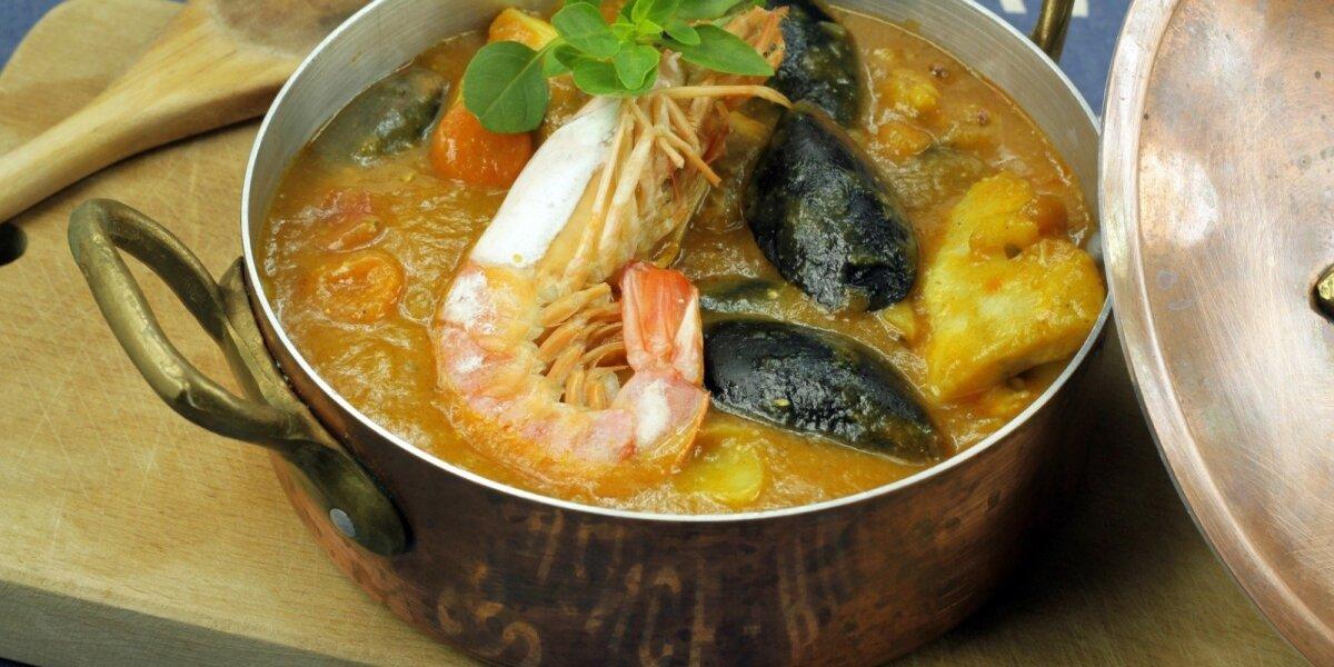 "Žuvienė ""Bouillabaisse"""