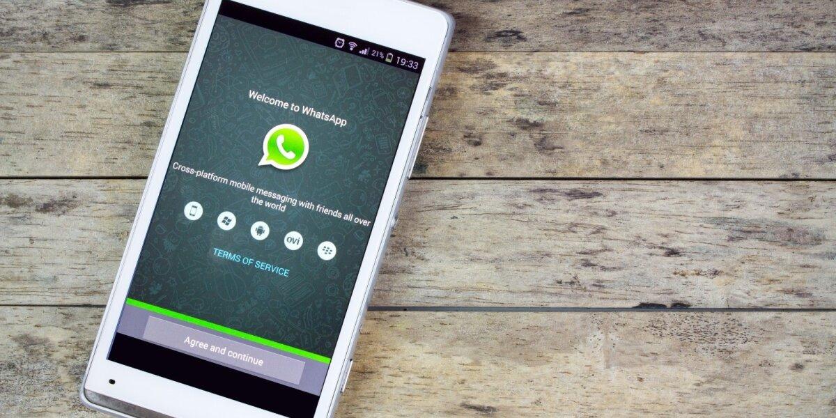 """Senesniuose telefonuose """"WhatsApp"""" nebeveikia"""