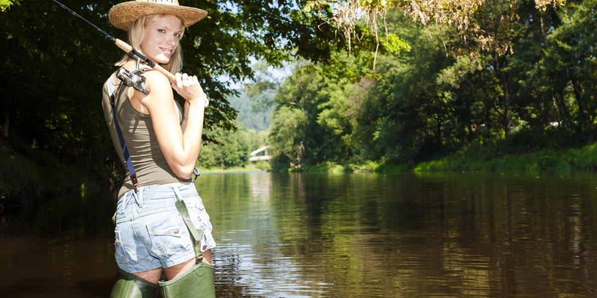Žvejyba upėje