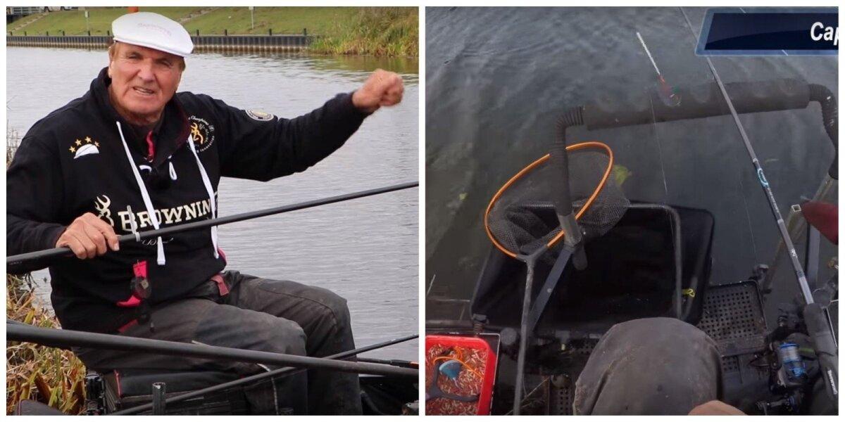 Bob Nudd žvejybos akimirkos