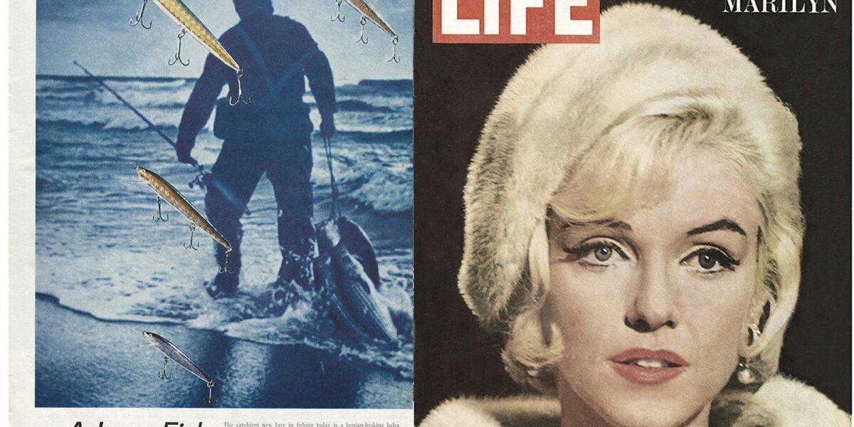 """Rapala straipsnis 1962 m. """"LIFE"""" žurnale"""