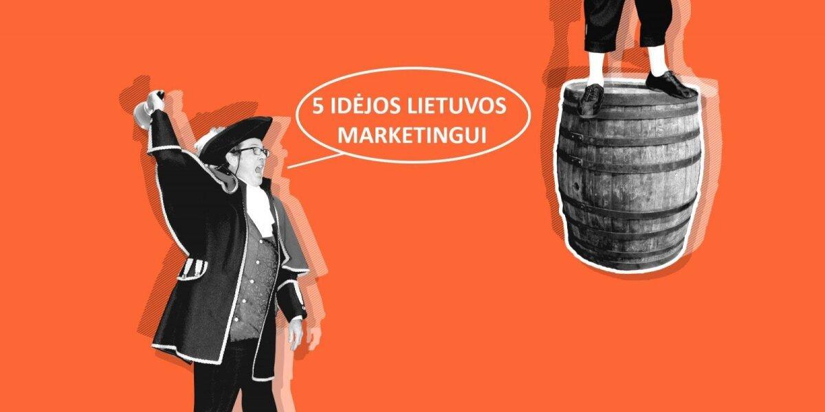 Deividas Bugdinas. 5 idėjos lietuviškam marketingui