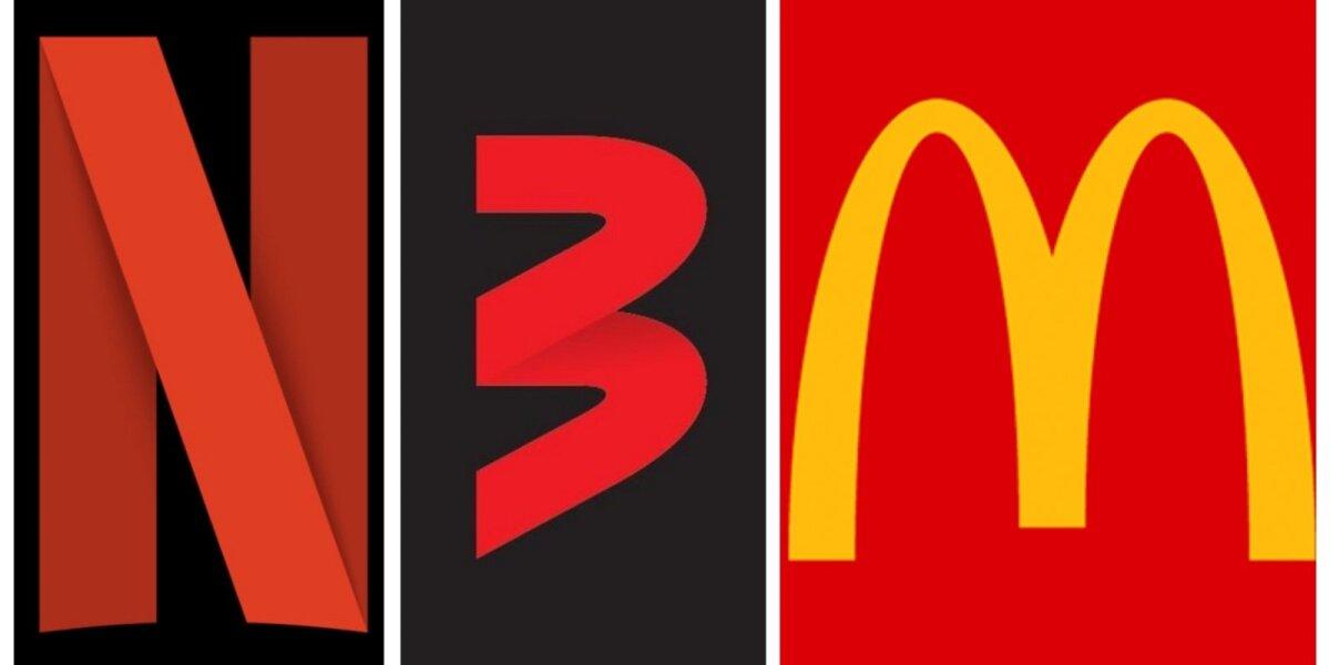 """Naują """"TV3"""" logotipą internautai lygina su """"Netflix"""" ir """"McDonald`s"""": ekspertai pateikė savo vertinimą"""