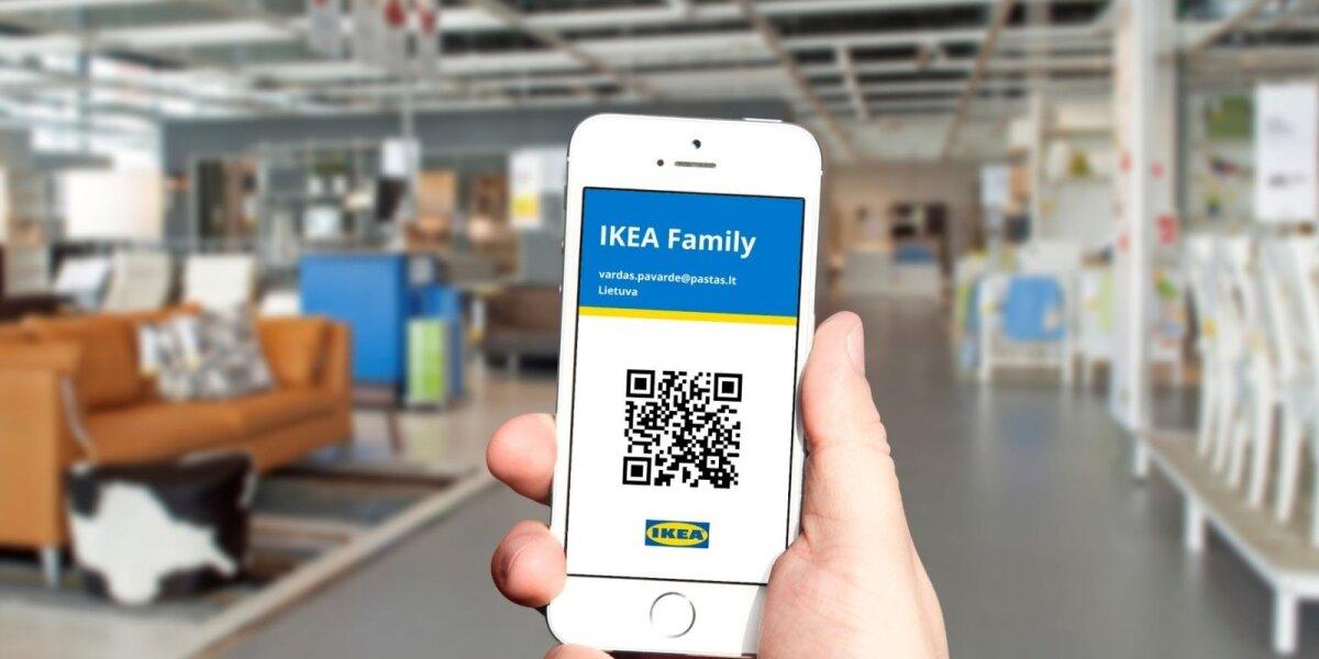 """""""IKEA"""" plastikines korteles keičia skaitmeninės"""