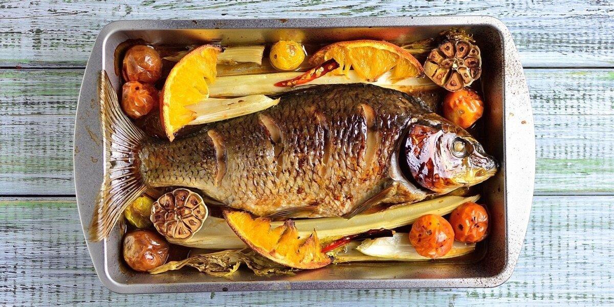 Valgyk sveikai: kaip karpį paversti tikru delikatesu