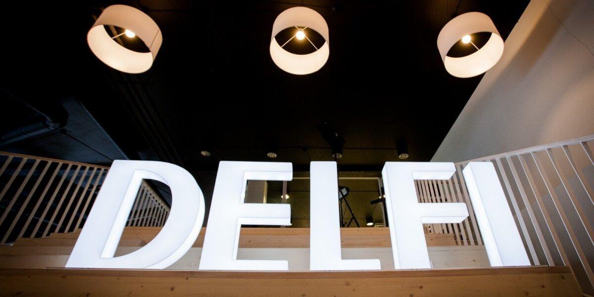 DELFI pajamos augo daugiau negu visa interneto reklamos rinka