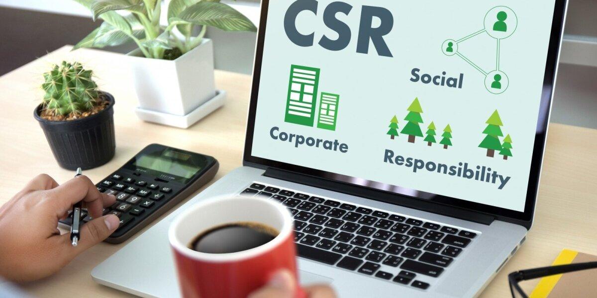 Socialiai atsakingas verslas ne tik remia kitus, bet ir edukuoja rinką