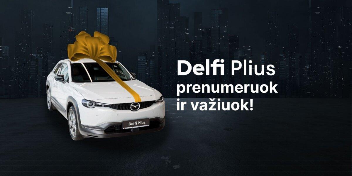 """Paaiškėjo """"Delfi Plius"""" žaidimo elektromobilio laimėtojas"""