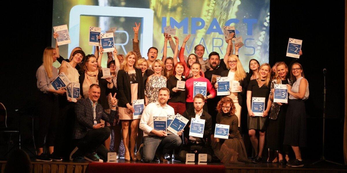 """""""PR Impact Awards 2019"""" varžytuvėse – 83 paraiškos"""