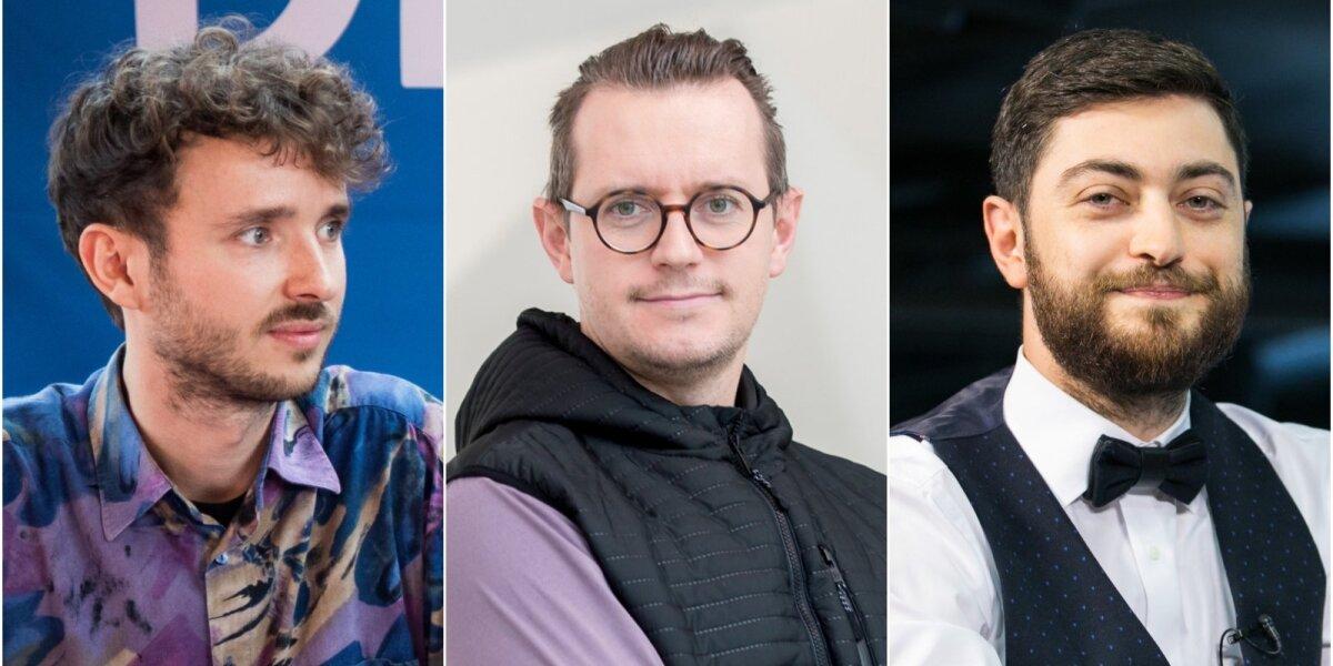 Karolis Rimkus, Tomas Nemura ir Arijus Žakas