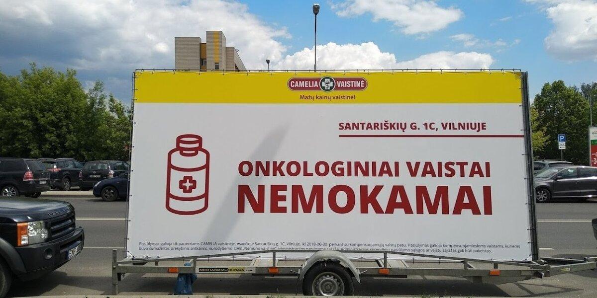 Pasipiktino vaistinių reklama: žemiau kristi nebeįmanoma