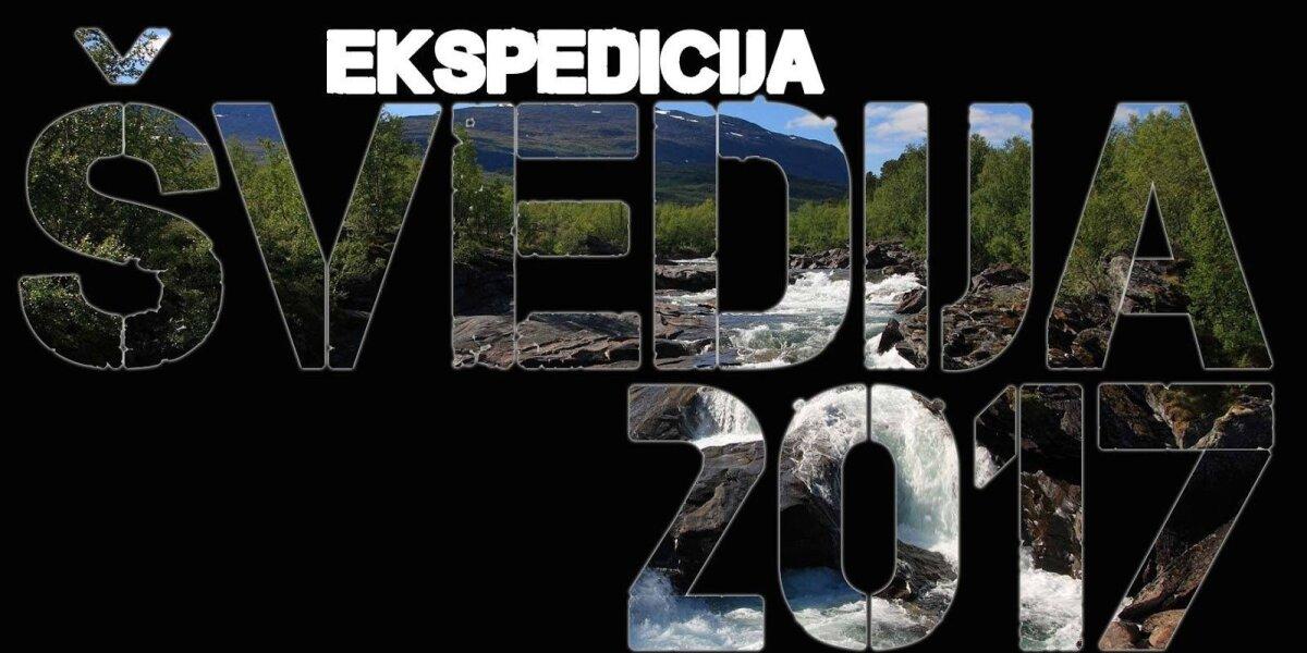 Žūklės dienoraštis: ekspedicija Švedija 2017 I dalis