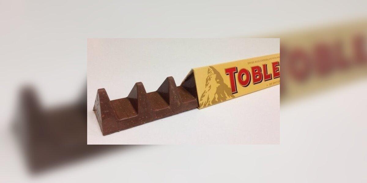 """Naujasis """"Toblerone"""" dizainas nuvylė šokolado gerbėjus"""