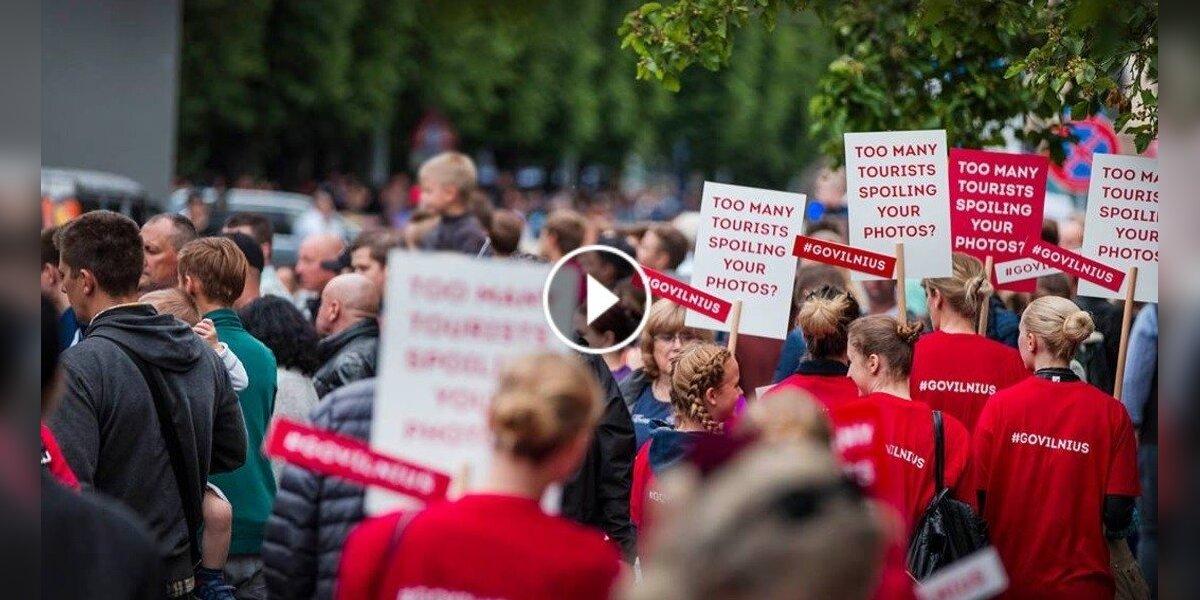 """""""Go Vilnius"""" reklama: gyvybingą Rygą iškeiskite į tuščią Vilnių"""