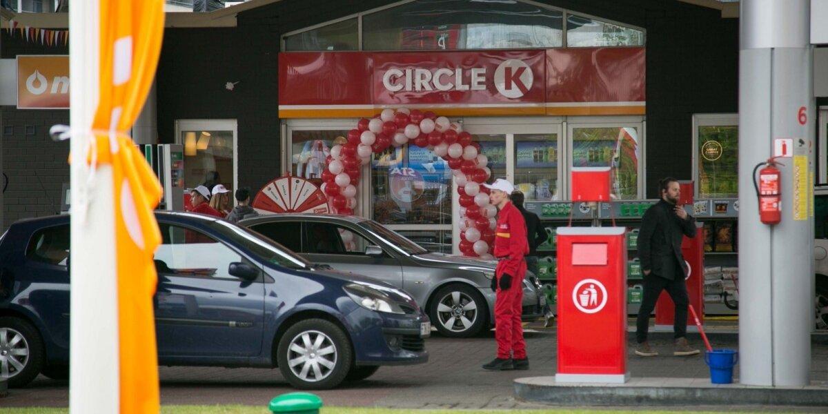 """""""Circle K"""" degalinių tinklo pervadinimo projektas: 4 mln. eurų per 4 mėnesius"""