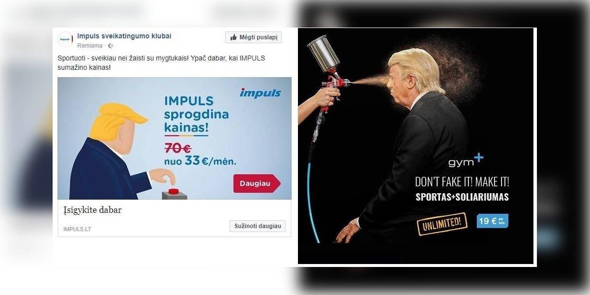 Kas sieja lietuviškus sporto klubus ir Donaldą Trumpą