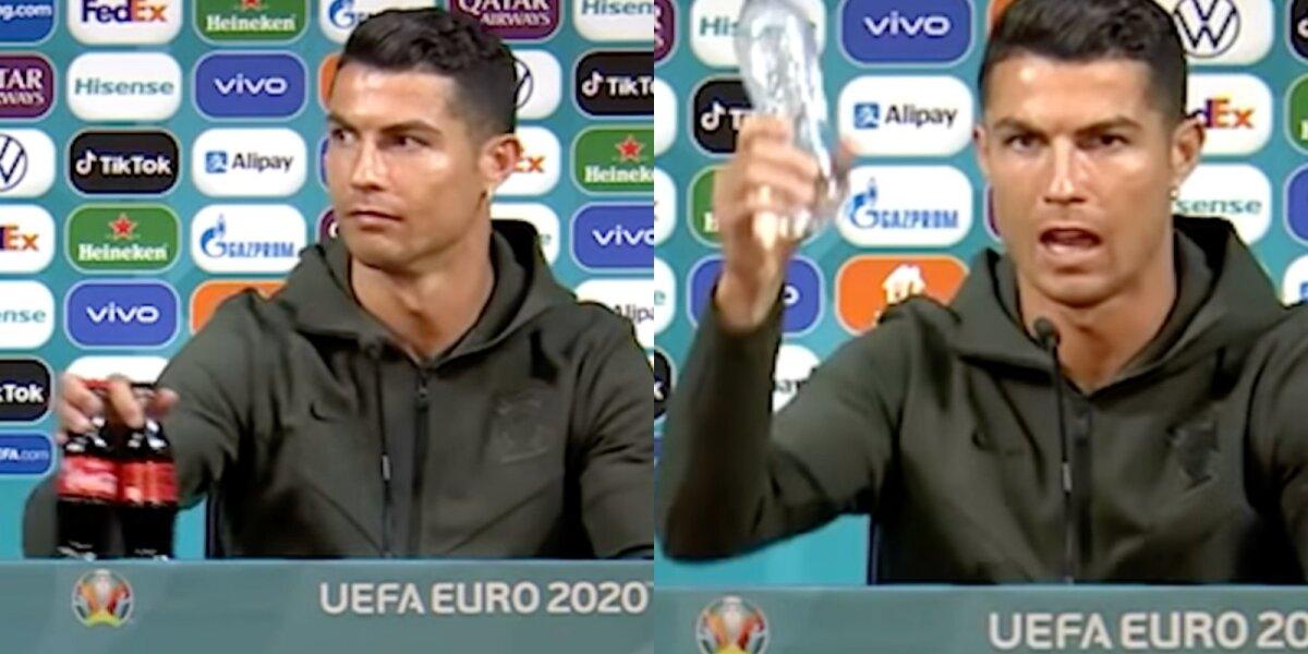 """Paaiškino tikrą """"Coca Colos"""" akcijų kainos kritimo priežastį: Cristiano Ronaldo vaidmuo nebuvo lemiamas"""