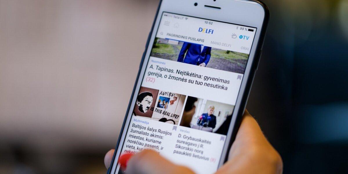 Mobilusis DELFI vasarą viršija skaitomumo rekordus