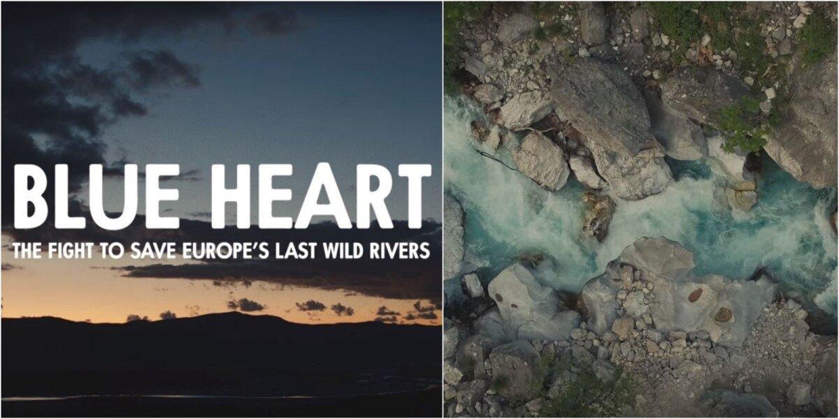 Upė Vjosa Albanijoje