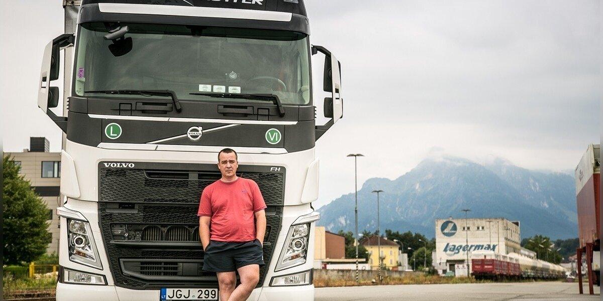 """""""Volvo"""" reklamuoja vilkikus lietuvišku serialu apie vairuotojo gyvenimą"""