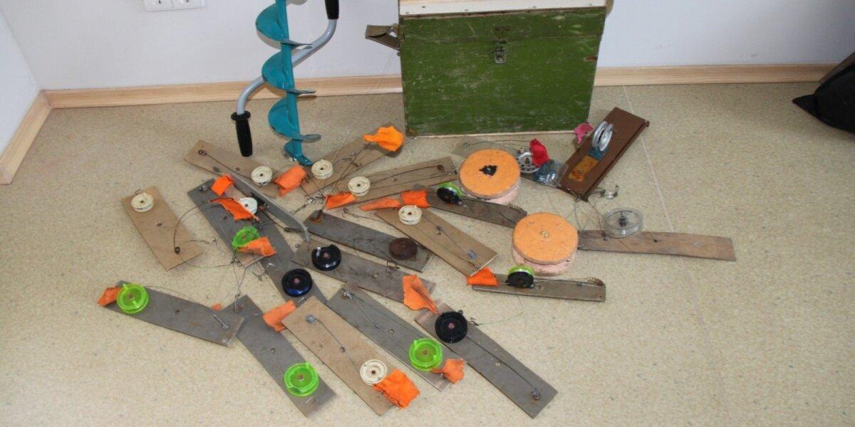 Pažeidėjų žvejybos arsenalas