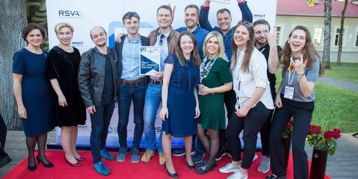 """""""PR Impact Awards 2019"""": metų komunikacijos agentūros – """"Idea Prima"""" ir """"Fabula Hill+Knowlton Strategies"""""""
