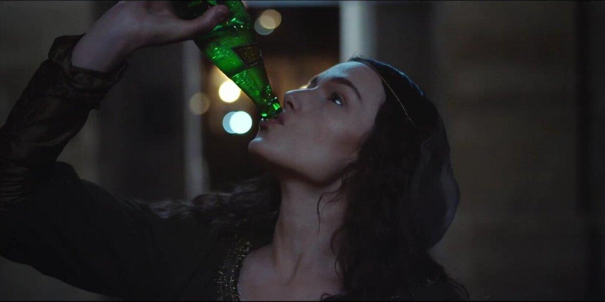 Mineralinio vandens reklamoje – Mona Liza sprunka iš Luvro