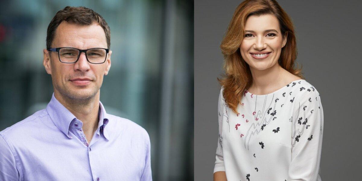Darius Gudelis ir Berta Čaikauskaitė
