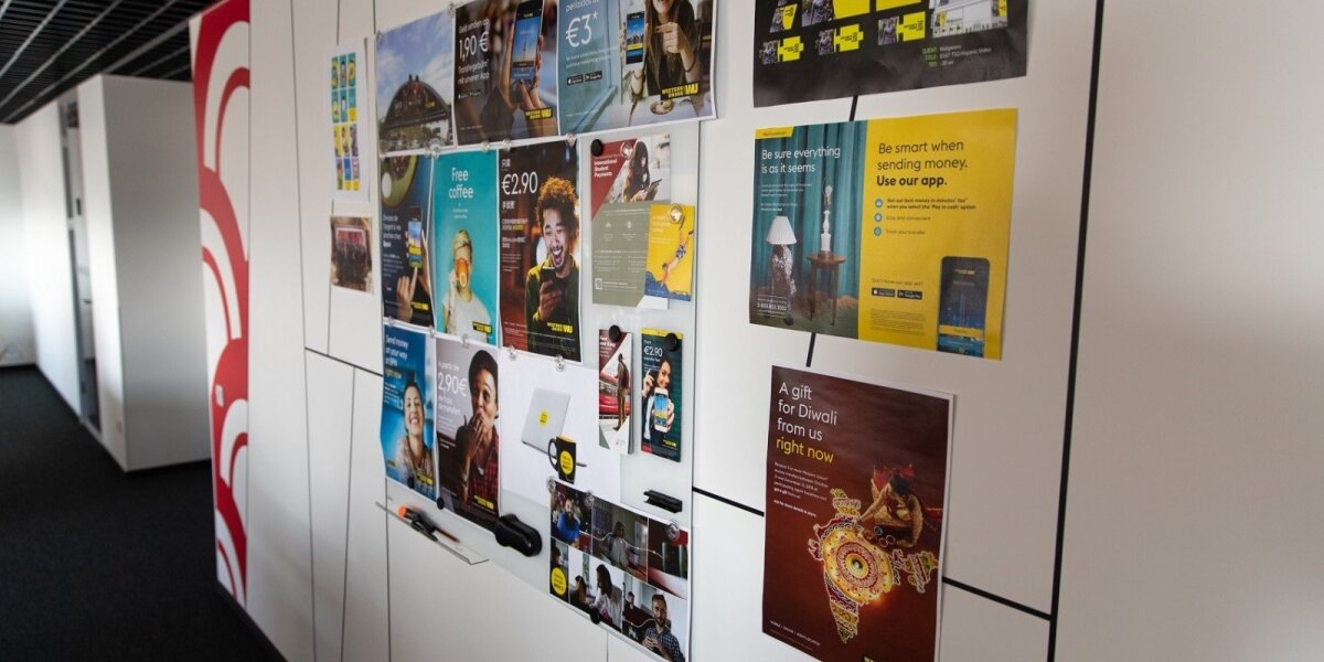Western Union Lietuva reklamos padalinys