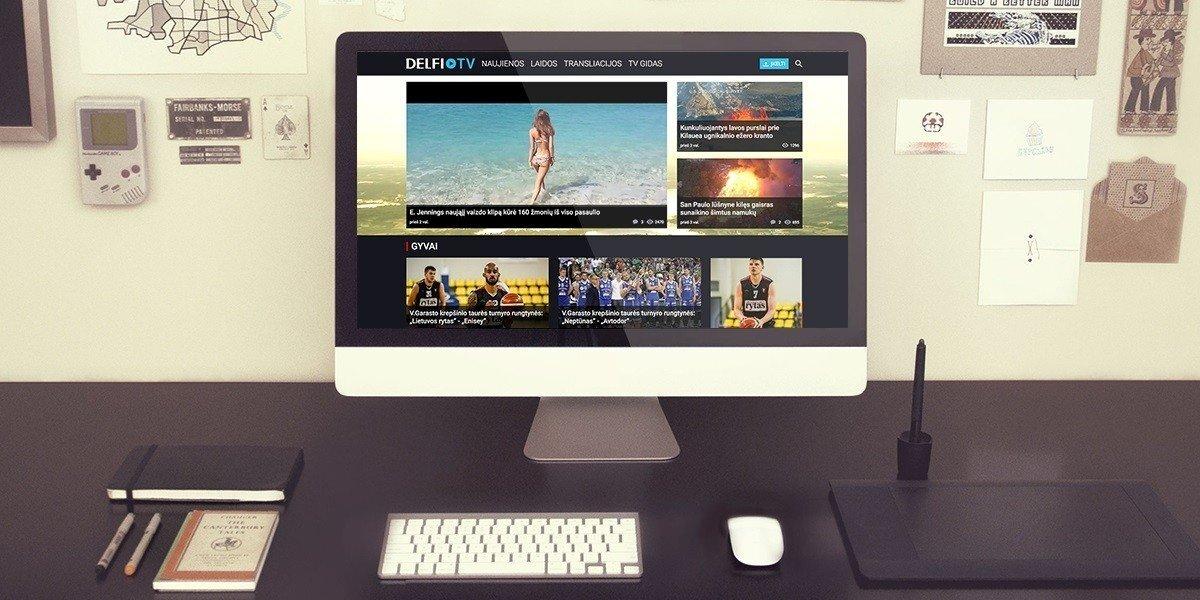 """DELFI grupė žengia į """"YouTube"""" turinio tinklą"""