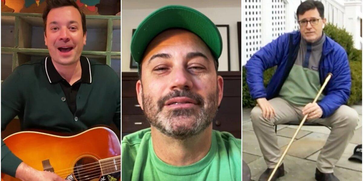 Jimmy Fallonas, Jimmy Kimmelis ir Stephenas Colbertas