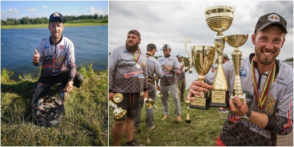 Akimirka iš Lietuvos dugninės meškerės čempionato