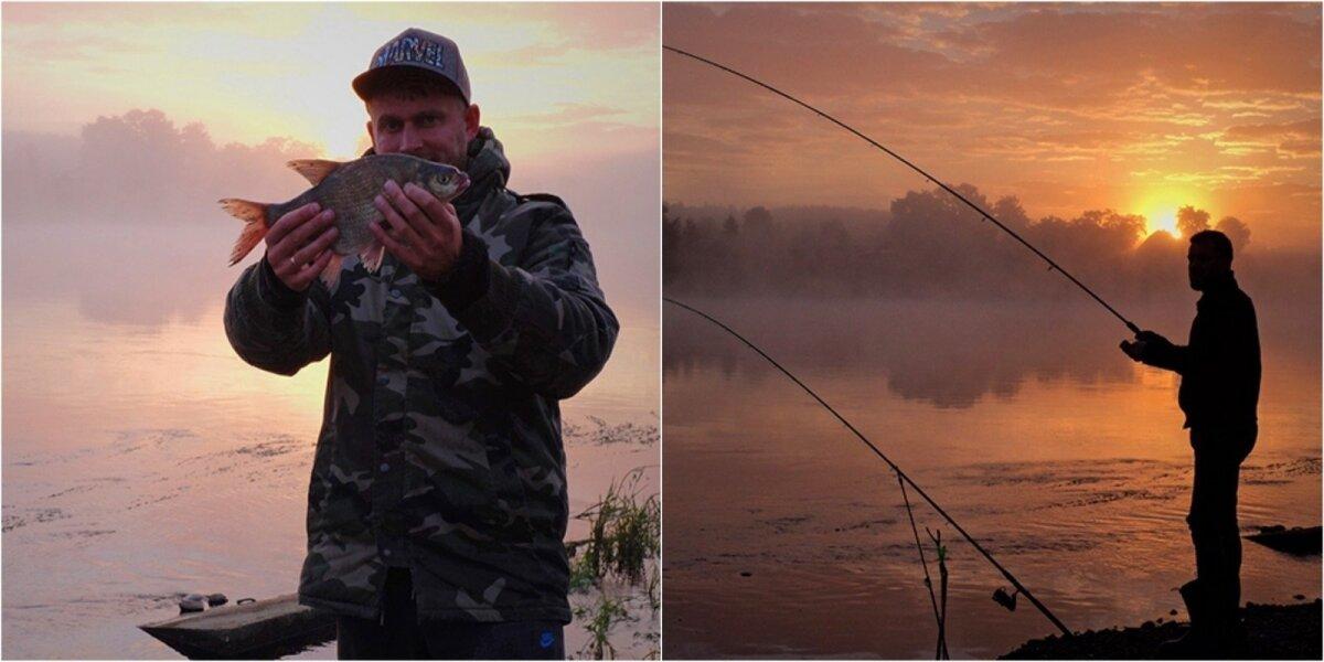 Žvejybos dugnine meškere Nemune akimirkos