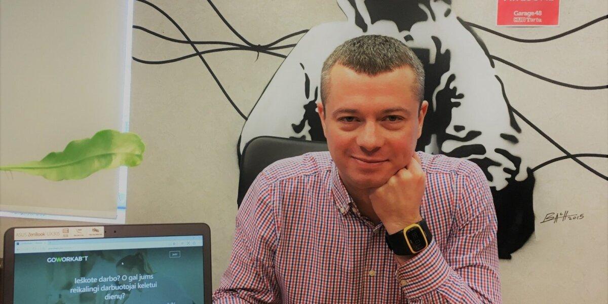 """G. Galkauskas tapo startuolio """"GoWorkaBit"""" rinkodaros vadovu Lietuvai"""