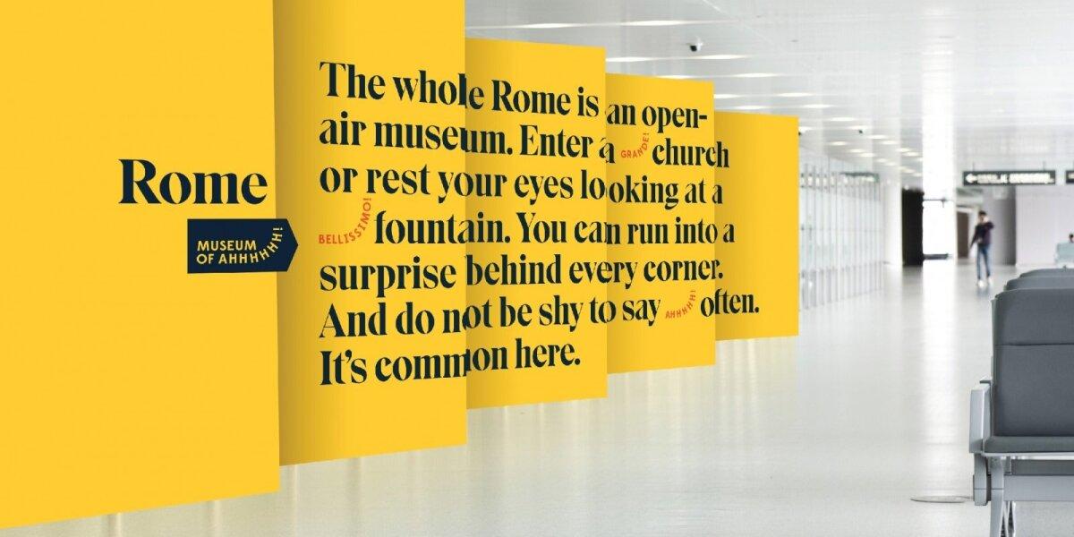 """""""New!"""" avantiūra Romoje – įteikti dovaną merei"""