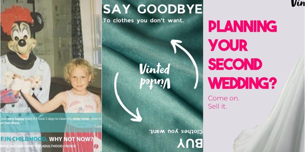 Jaunieji reklamos kūrėjai siūlo būdus paskatinti drabužiams suteikti naują šansą