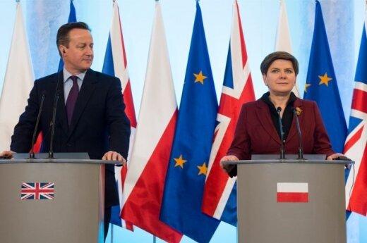 Spotkanie Szydło i Camerona. Fot: P. Tracz / KPRM