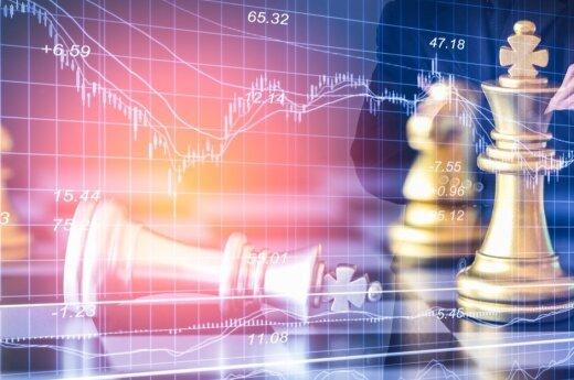 Akcijų rinkos kyla į naujas aukštumas