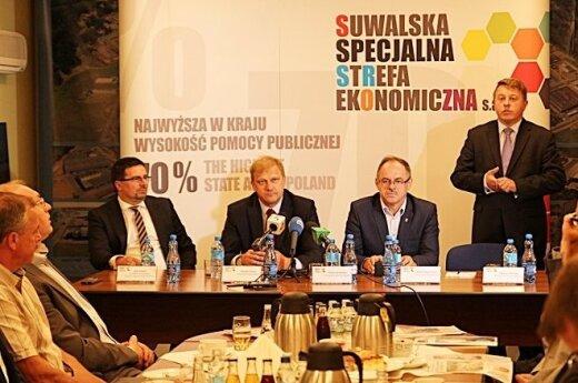 Polsko-Litewska Izba Handlowa prezentuje się w Suwałkach