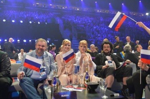 Incydent na Eurowizji: Zobacz jak sala wygwizdała Rosję