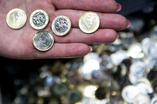 Pierwsze litewskie euro już wybite