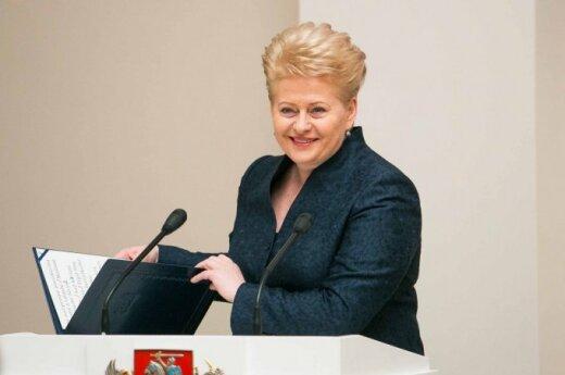 Dalia Grybauskaitė: Euro w 2007 roku przyniosłoby Litwie 8 mld litów