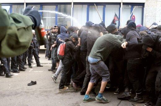 RFN: W Berlinie zostało rannych ponad 30 policjantów